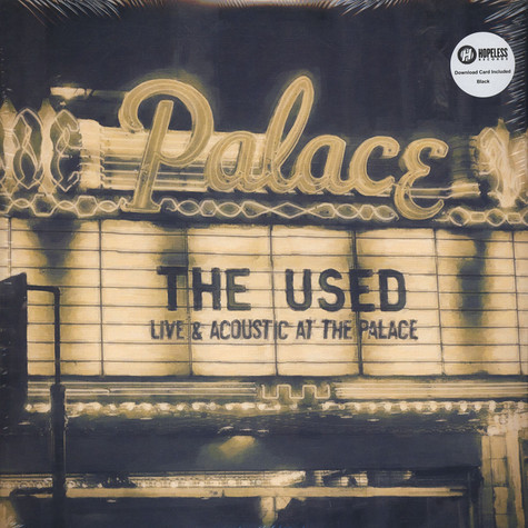 Used, The - Live And Acoustic At The Palace
