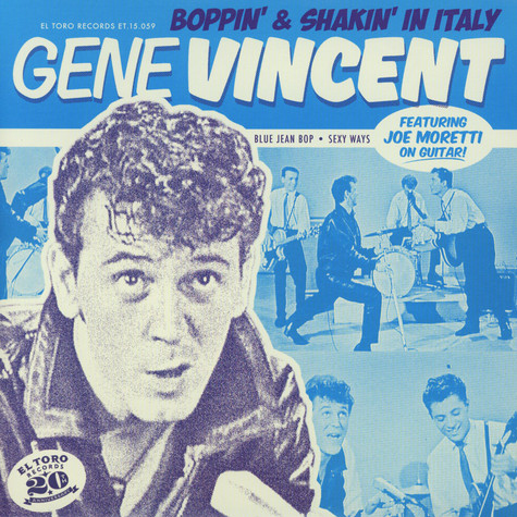 Gene Vincent - Boppin & Shakin In Italy