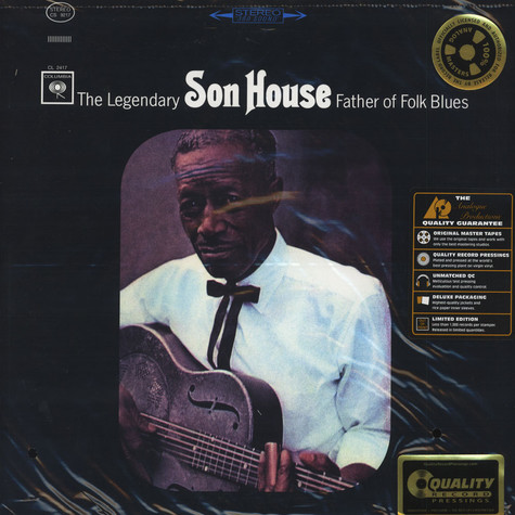 Son House - The Legendary Father Of Folk Blues 200g Vinyl Edition