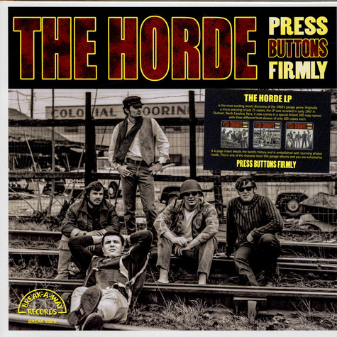 Horde, The - Press Buttons Firmly (Cover 2)