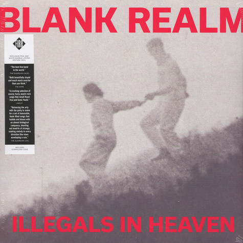 Blank Realm - Illegals In Heaven Colored Vinyl Edition