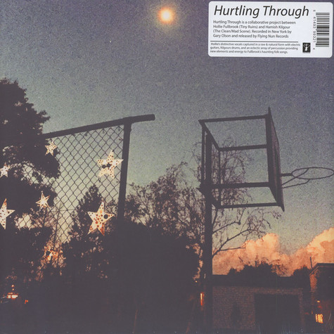 Tiny Ruins & Hamish Kilgour - Hurtling Through