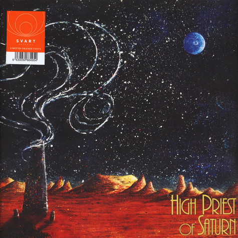 High Priests Of Saturn - Son Of Earth And Sky Orange Vinyl Edition