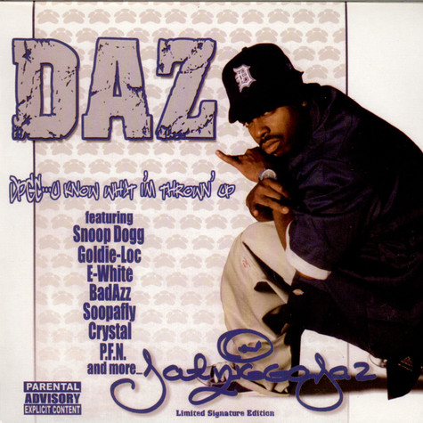 Daz Dillinger - DPGC: U Know What I'm Thrown' Up