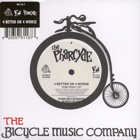 Pharcyde, The - 4 Better Or 4 Worse