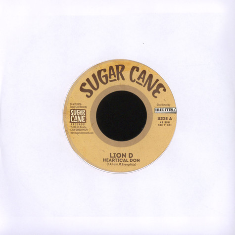 Lion D  / Don Sugar - Heartical Don / Heartical Dub