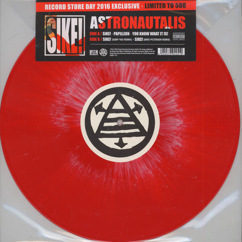 Astronautalis - The Sike!