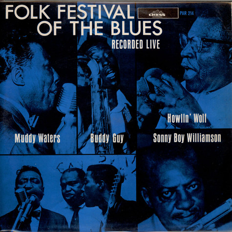 V.A. - Folk Festival Of The Blues