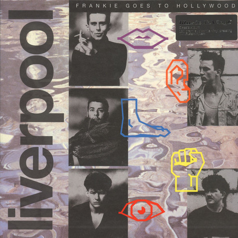 Frankie Goes To Hollywood - Liverpool Black Vinyl Edition