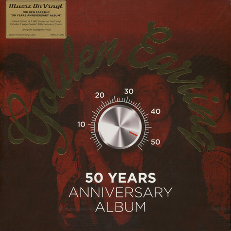 Golden Earring - 50 Years Anniversary Album Gold Vinyl Edition