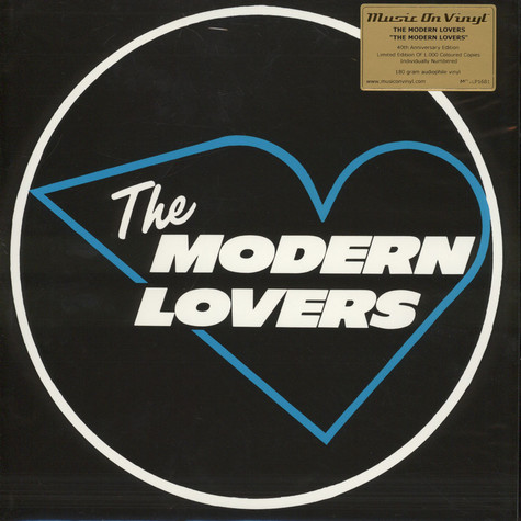 Modern Lovers, The - The Modern Lovers White Vinyl Edition
