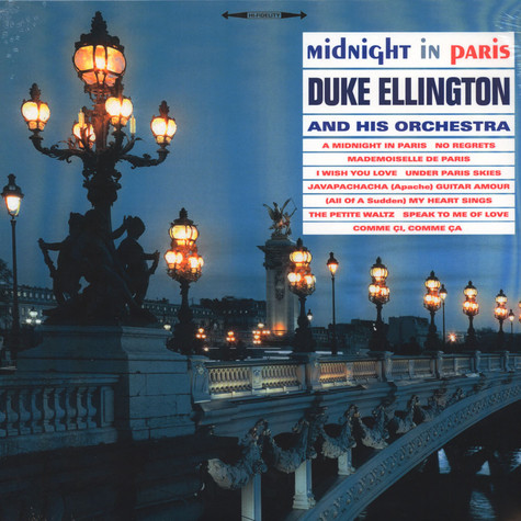 duke ellington midnight in paris vinyl lp 2016 uk original
