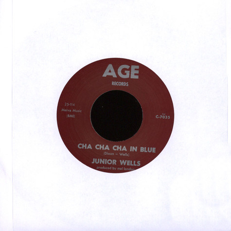 Ricky Allen / Junior Wells - Cut You A-Loose / Cha Cha Cha In Blue