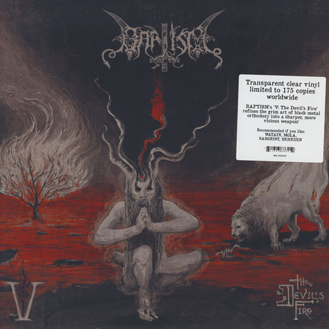Baptism - V: The Devil's Fire Clear Vinyl Edition