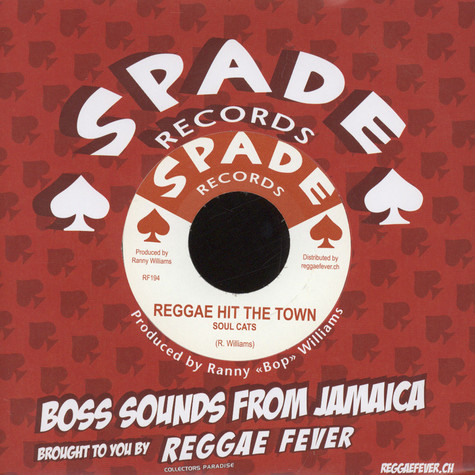 Soul Cats, The / Gregory Isaacs - Reggae Hit The Town / Another Heartache