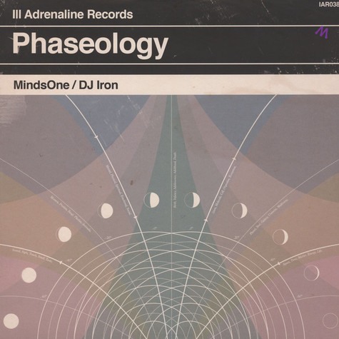 MindsOne & DJ Iron - Phaseology Clear Vinyl Edition