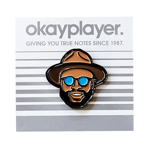 Black Thought - Black Thought Enamel Pin