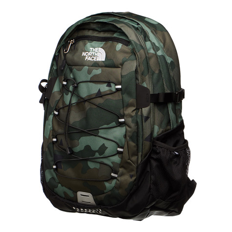 The North Face - Borealis Classic Backpack (Camo Print   Tnf Black ... a54fc5bfb7d0d