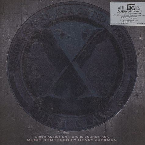 Henry Jackman - OST X-Men: First Class Silver Vinyl Edition