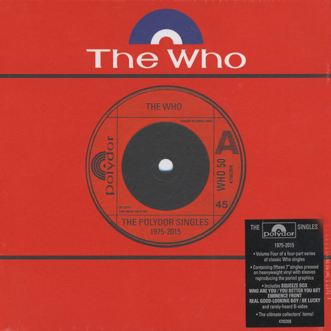Who, The - Volume 4: The Polydor Singles 1975-2015