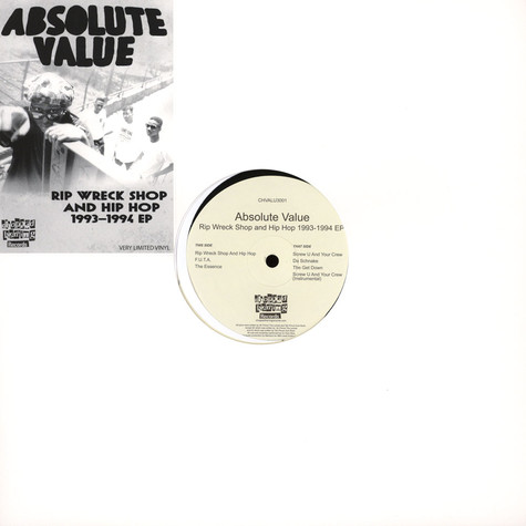 Absolute Value - Rip Wreck Shop And Hip Hop 1993-1994 EP