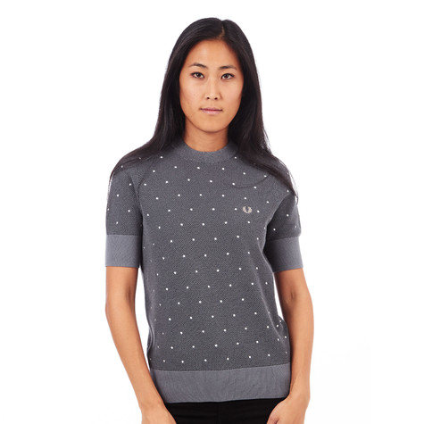 Fred Perry - Crew Neck Polka Dot Sweater