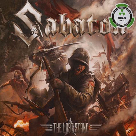 Sabaton - The Last Stand Gold Vinyl Edition