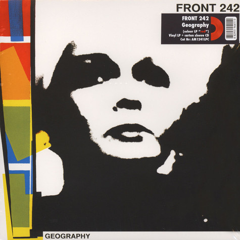Front 242 - Geography Red Vinyl Edition