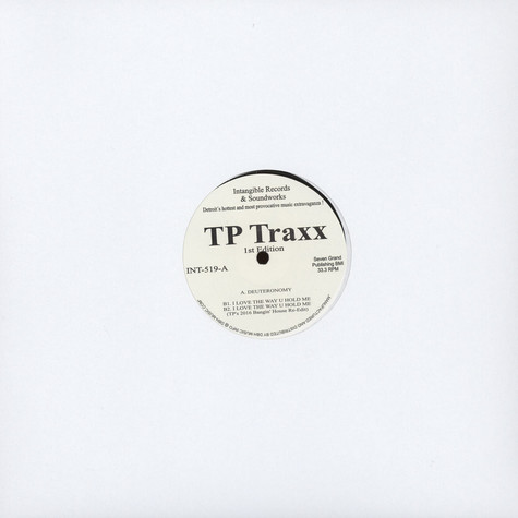 Terrence Parker - TP Traxx 1st Edition