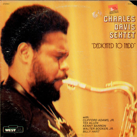 Charles Davis Sextet - Dedicated To Tadd