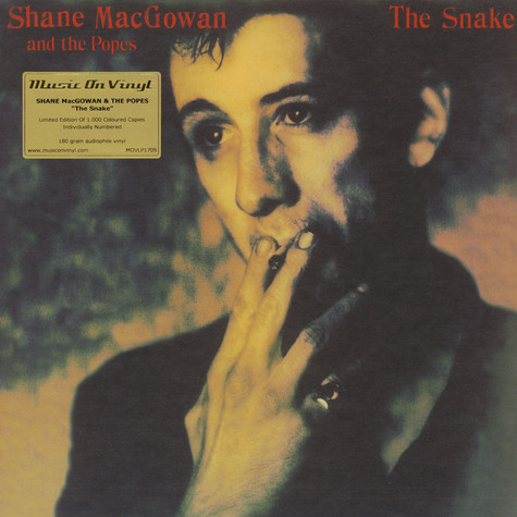 Shane Macgowan Amp The Popes The Snake Transparent Green