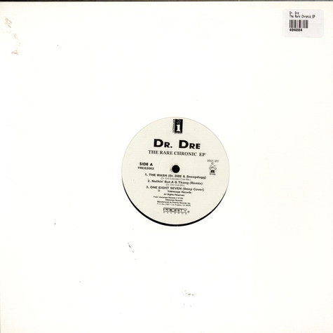 Dr. Dre - The Rare Chronic EP