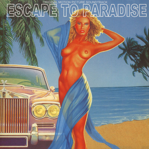 Gerhard Heinz - OST Escape To Paradise Black Vinyl Edition