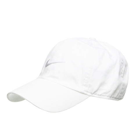 1ad8726c35d Nike - Swoosh H86 Hat (White   Wolf Grey)