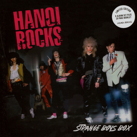 Hanoi Rocks - Strange Boys Box