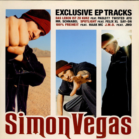 Simon Vegas - Exclusive EP Tracks