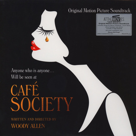 V.A. - OST Cafe Society Black Vinyl Edition