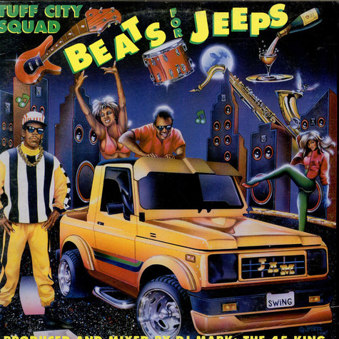 Tuff City Squad - Beats For Jeeps