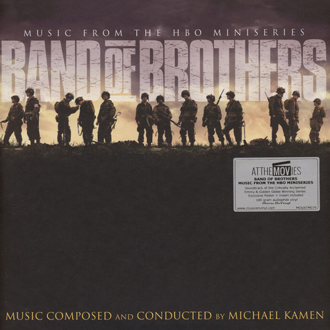 Michael Kamen - OST Band Of Brothers Black Vinyl Edition