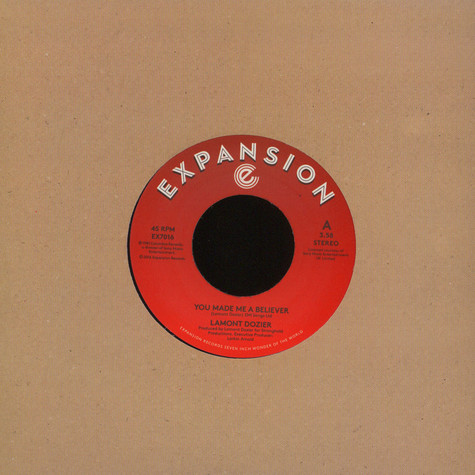 Lamont Dozier - You Made Me A Believer / Starting Over