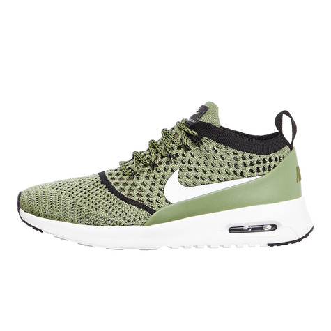 Nike - WMNS Air Max Thea Flyknit (Palm Green   White   Black)  e6ab6dede787