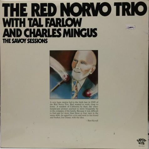 Red Norvo Trio, The - The Red Norvo Trio With Tal Farlow And Charles Mingus