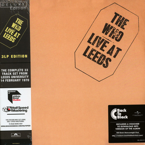 Who, The - Live At Leeds Deluxe Edition