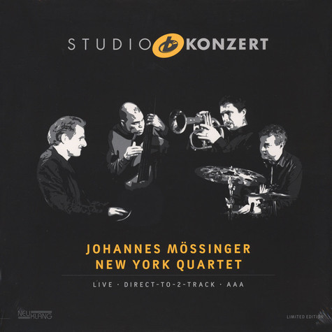 Johannes Mössinger New York Quartet - Studio Konzert