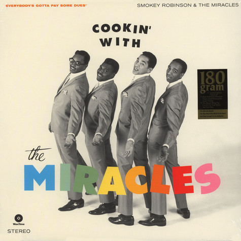 Smokey & The Miracles Robinson - Cookin' With