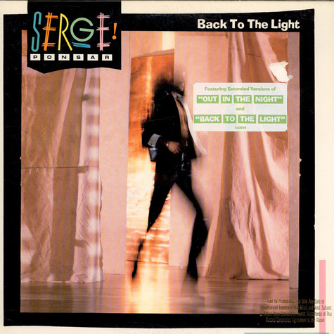 Serge Ponsar - Back To The Light