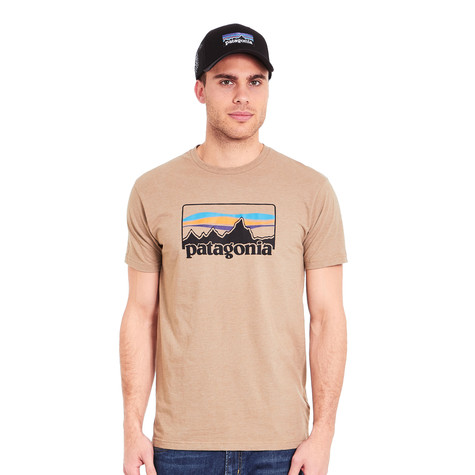 Patagonia - 73 Logo Cotton Poly T-Shirt