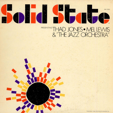 Thad Jones, Mel Lewis & The Jazz Orchestra - Presenting Thad Jones, Mel Lewis & The Jazz Orchestra
