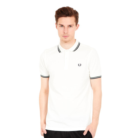 ab3d656d Fred Perry - Twin Tipped Fred Perry Polo Shirt___ALT (Snow White ...