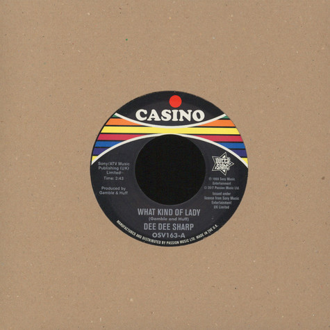 Dee Dee Sharp - What Kind Of Lady / The Bottle Or Me